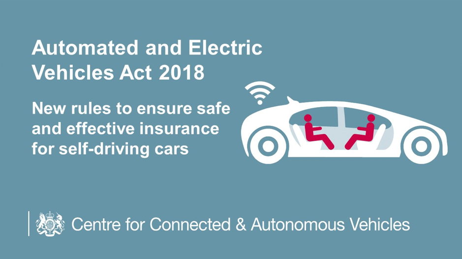 Automated And Electric Vehicles Act 2018