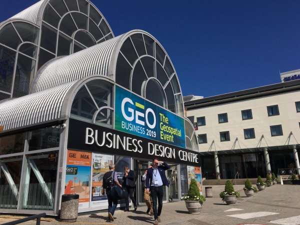 Front entrance to the GEO Business 2019 meeting